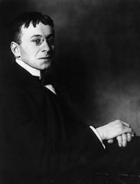 Karl Kraus. Foto von d'Ora, 1908.