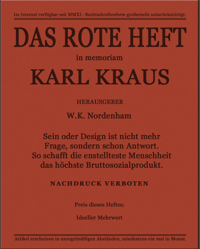 Das Rote Heft Konrad Heiden